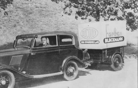 Lieferdienst (1940) von Tapeten-Teppichboden Bleckmann in Duisburg